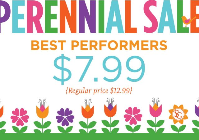 Perennial Sale Sign
