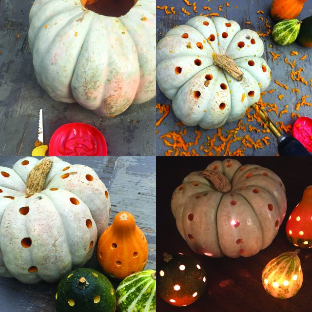 carving gourds pumpkins
