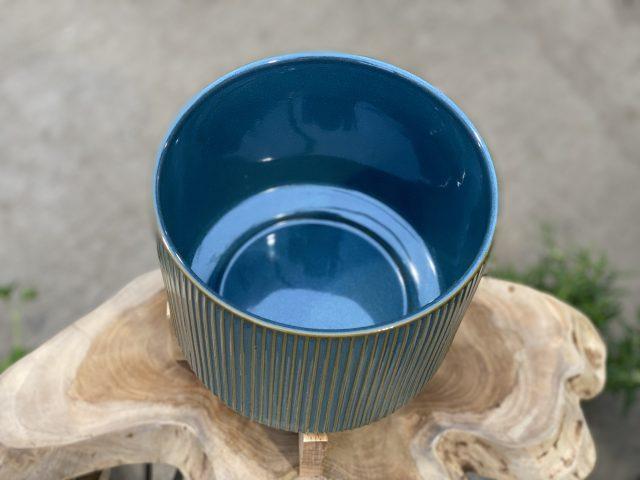 Reactive Blue/Green Planter Green