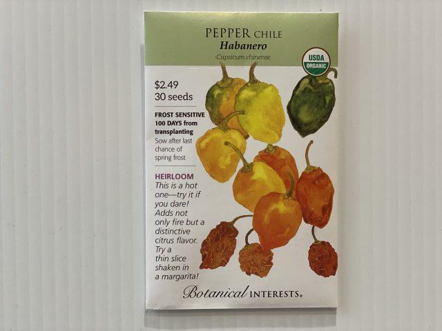 Pepper Chile Habanero