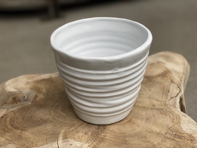 """Format Pot 5"""" White"""