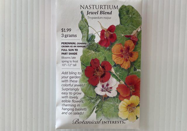 Nasturtium Jewel Blend