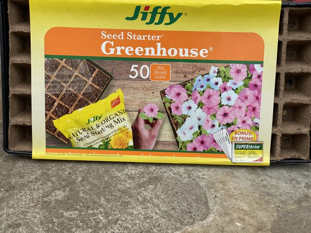 Jiffy Seed Starting Greenhouse