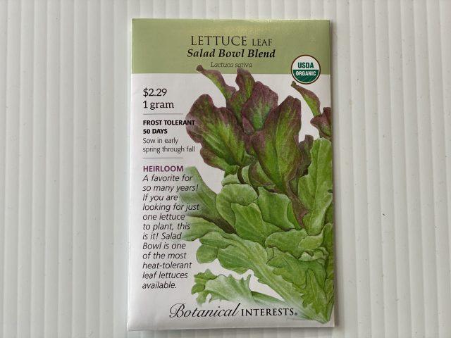 Lettuce Salad Bowl Blend