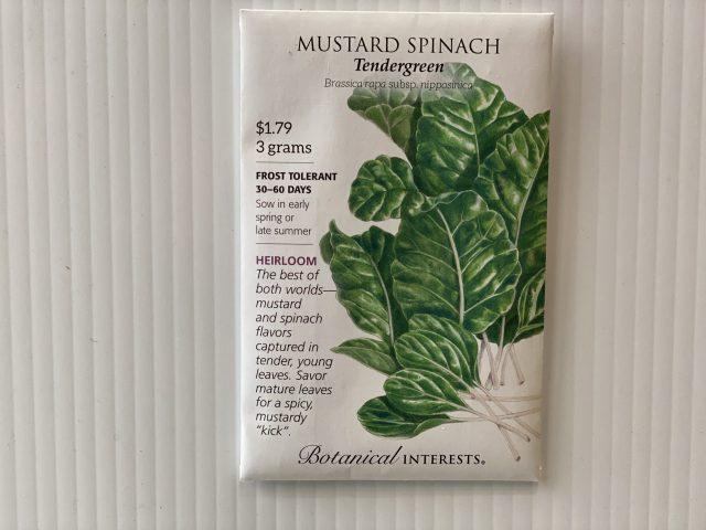 Mustard Spinach Tendergreen