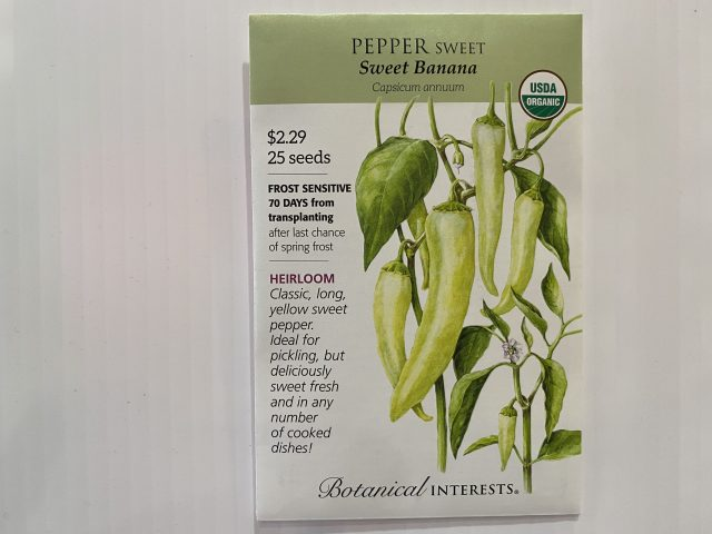 Pepper Sweet Banana