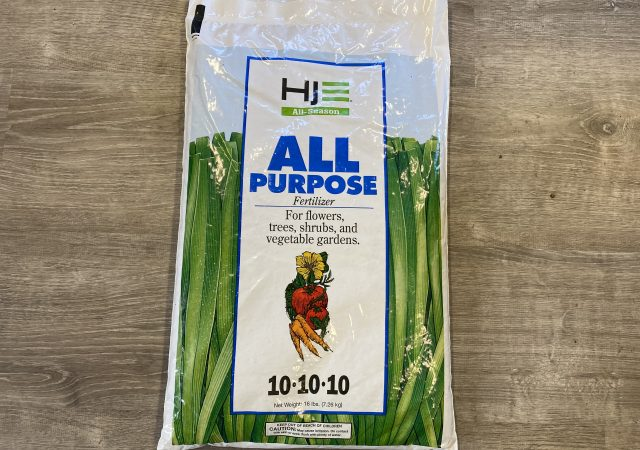 All purpose fertilizer