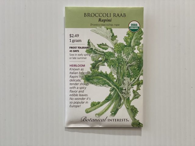 Broccoli Raab Rapini