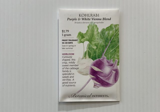 Kohlrabi Purple and White Vienna Blend