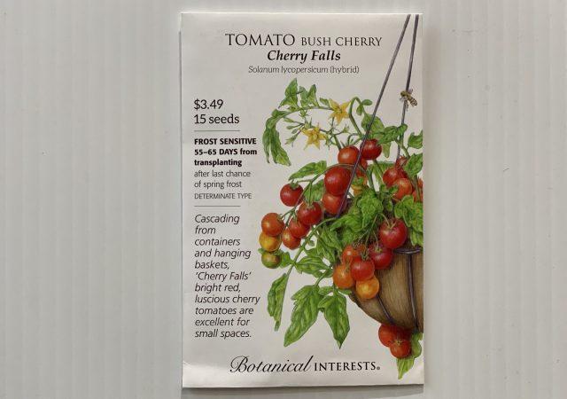 Tomato Bush Cherry, Cherry Falls