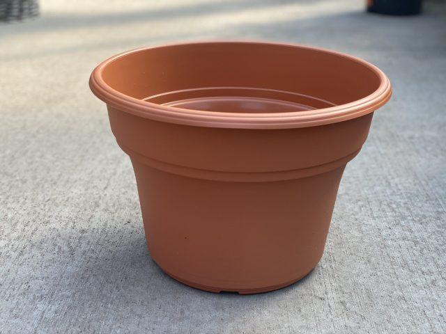 """Panterra Pot Clay 12"""" (Plastic)"""