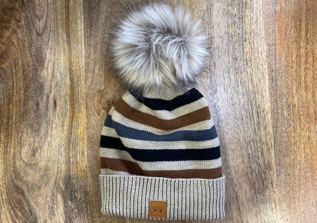 panache hat stripe