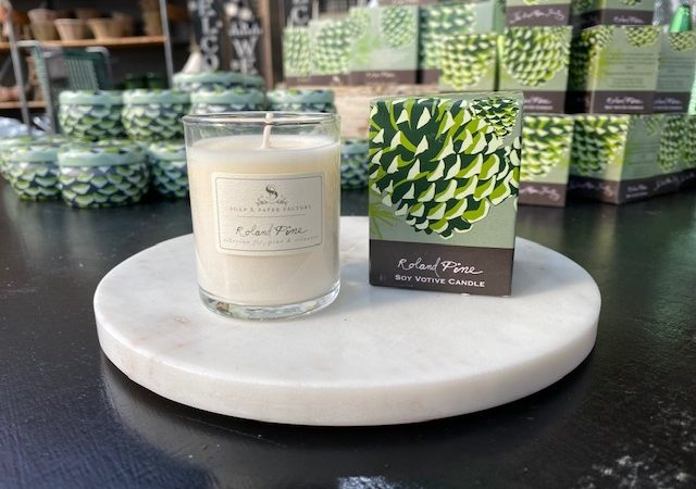 Soap & Paper Factory Roland Pines candle
