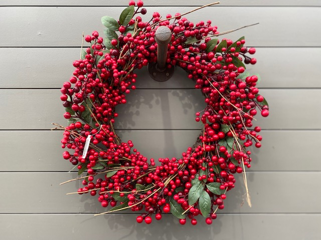 Wreath - Berry 22""