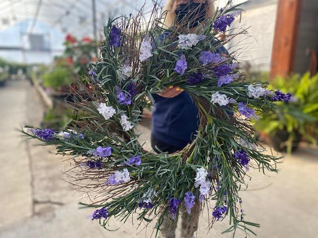 faux wreath