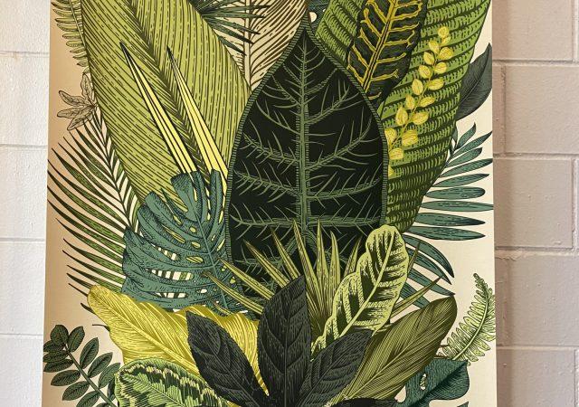 Canvas Wall Art Botanical